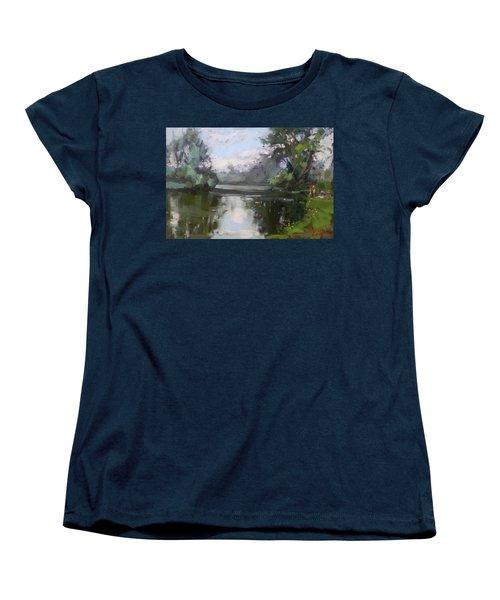 Outdoors At Hyde Park Women's T-Shirt (Standard Cut)