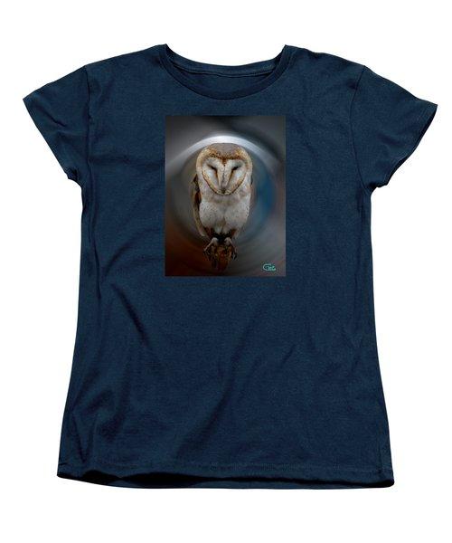 Owl Alba  Spain  Women's T-Shirt (Standard Cut) by Colette V Hera  Guggenheim