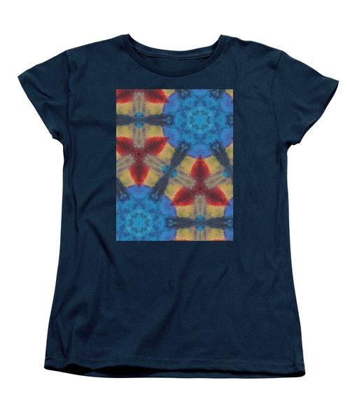 Owl Dream Catcher Women's T-Shirt (Standard Cut) by Maria Watt