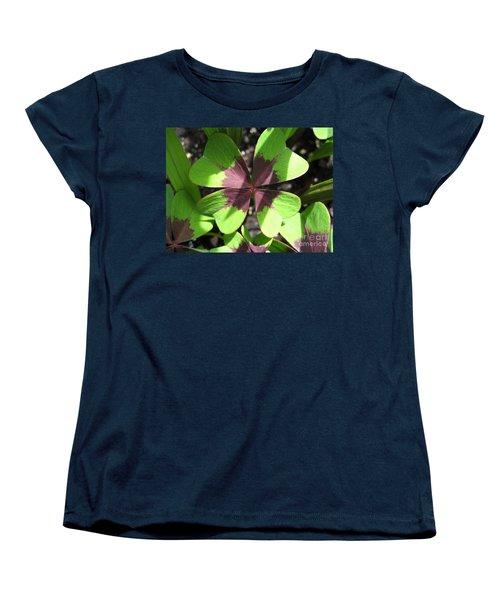 Oxalis Deppei Named Iron Cross Women's T-Shirt (Standard Cut) by J McCombie