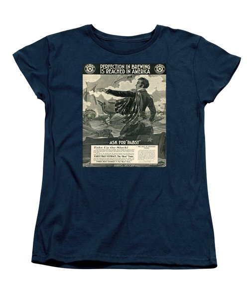 Women's T-Shirt (Standard Cut) featuring the digital art Pabst by Cathy Anderson