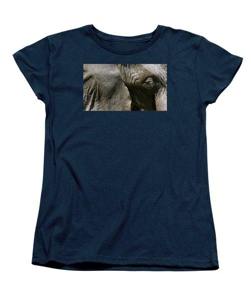 Women's T-Shirt (Standard Cut) featuring the photograph Pachyderm by Jennifer Wheatley Wolf