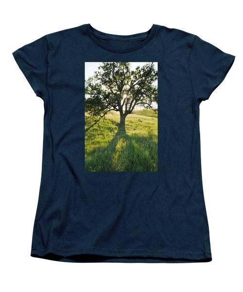 Women's T-Shirt (Standard Cut) featuring the photograph Pacific Coast Oak Malibu Creek by Kyle Hanson