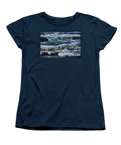 Pacific Waves Women's T-Shirt (Standard Cut)