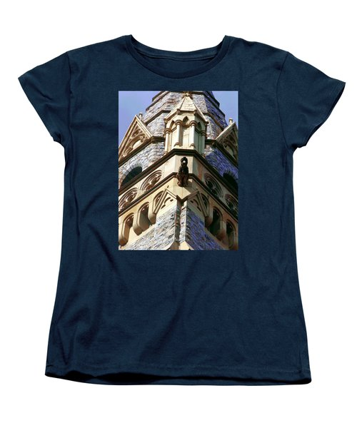 Packer Memorial Church Detail Women's T-Shirt (Standard Cut) by Jacqueline M Lewis