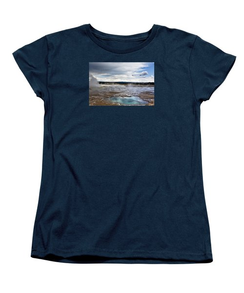 Paint Pots Women's T-Shirt (Standard Cut) by Belinda Greb