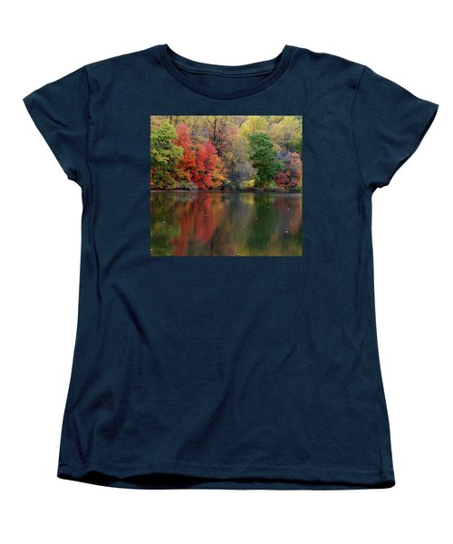Women's T-Shirt (Standard Cut) featuring the photograph Painted Water by Richard Bryce and Family