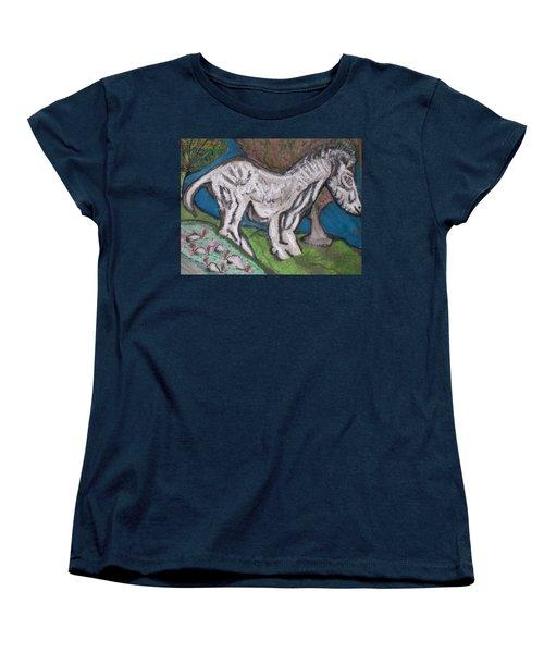 Out There Alone. Women's T-Shirt (Standard Cut) by Jonathon Hansen