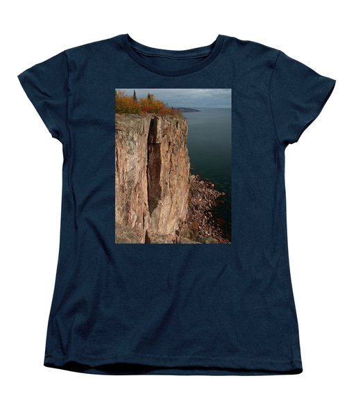 Women's T-Shirt (Standard Cut) featuring the photograph Palisade Depths by James Peterson