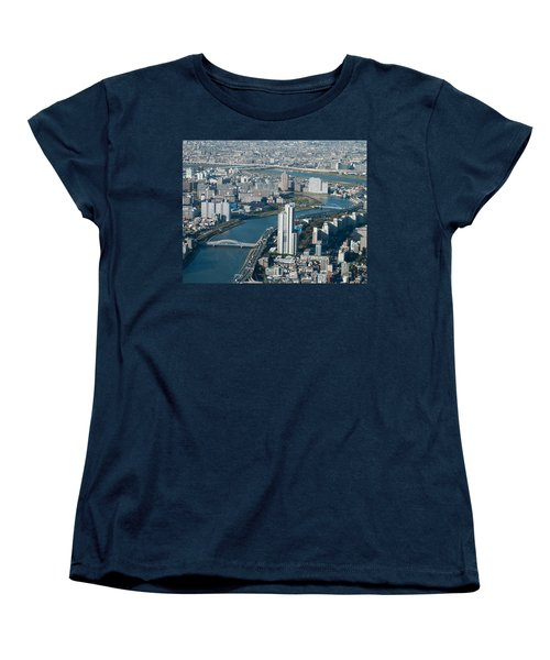 Panorama Of Tokyo Women's T-Shirt (Standard Cut)