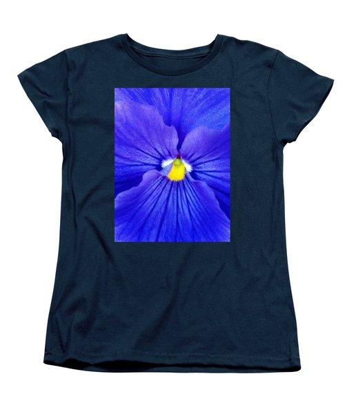Pansy Flower 37 Women's T-Shirt (Standard Cut) by Pamela Critchlow