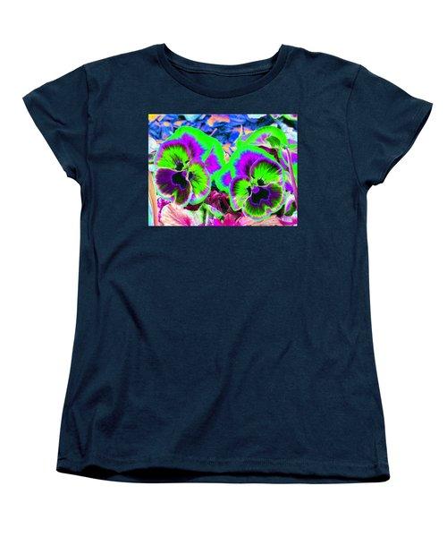 Pansy Power 60 Women's T-Shirt (Standard Cut)