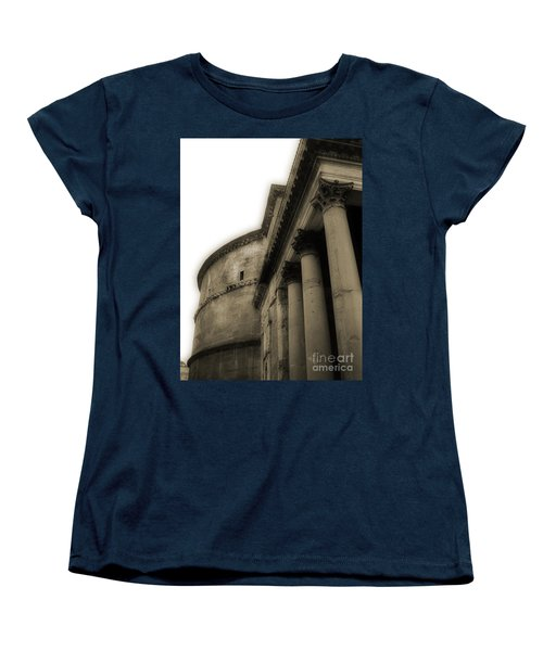 Pantheon Women's T-Shirt (Standard Cut) by Angela DeFrias