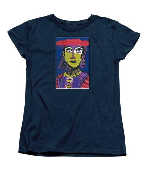 Papal Guard Women's T-Shirt (Standard Cut) by Don Koester