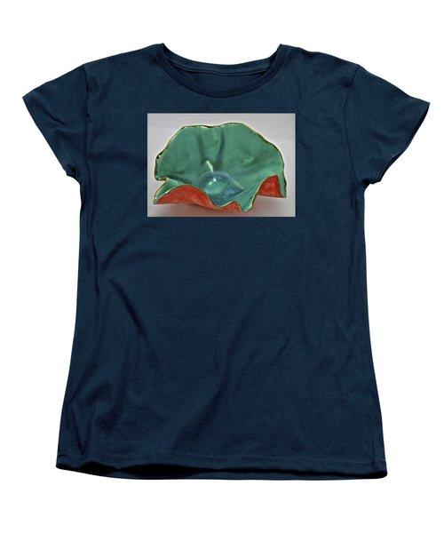Paper-thin Bowl  09-007 Women's T-Shirt (Standard Cut) by Mario Perron