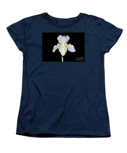 Paphiopedilum Orchid F.c. Puddle Superbum  Women's T-Shirt (Standard Cut)