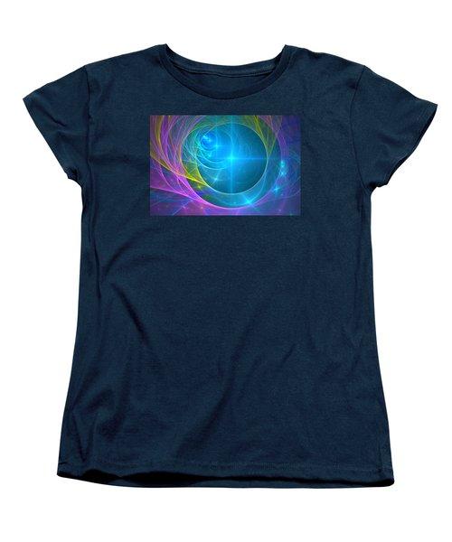 Parallel Realities Women's T-Shirt (Standard Cut) by Svetlana Nikolova