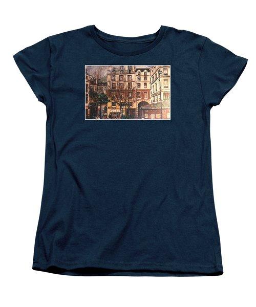 Paris Women's T-Shirt (Standard Cut) by Walter Casaravilla