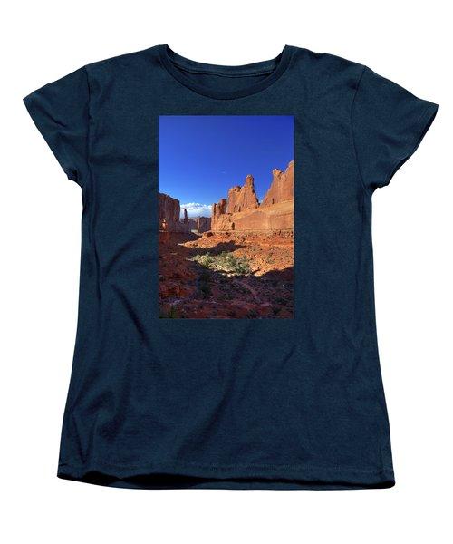 Park Avenue Sunset Women's T-Shirt (Standard Cut) by Alan Vance Ley
