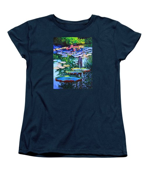 Passion For Color And Light Women's T-Shirt (Standard Cut) by John Lautermilch