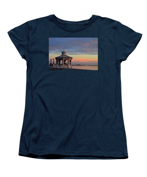 Pastel Sky Women's T-Shirt (Standard Cut) by Leticia Latocki