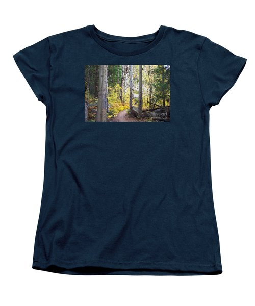 Path Of Peace Women's T-Shirt (Standard Cut) by Margie Chapman