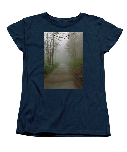 Path To Clingmans Dome Women's T-Shirt (Standard Cut) by Karin Thue