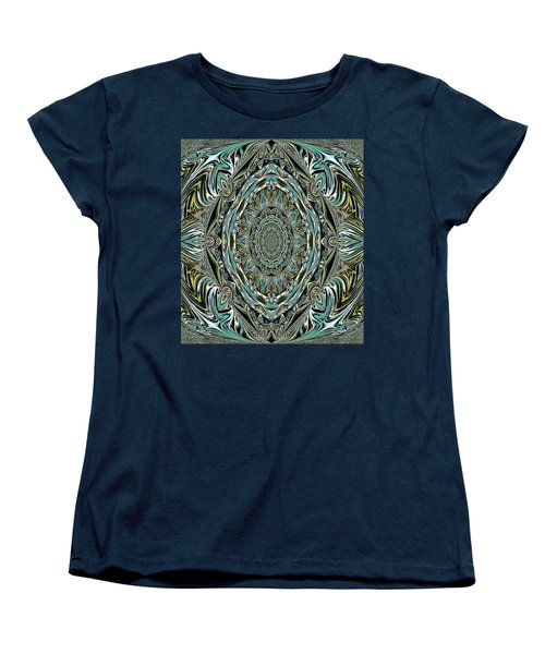 Women's T-Shirt (Standard Cut) featuring the photograph Pattern. Art For Home And Office by Oksana Semenchenko