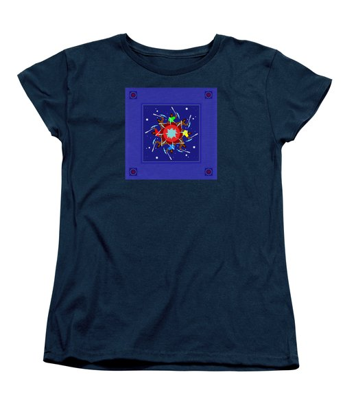 Women's T-Shirt (Standard Cut) featuring the photograph Peace Drum by I'ina Van Lawick