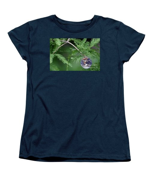 Peace On Earth Women's T-Shirt (Standard Cut) by Living Color Photography Lorraine Lynch