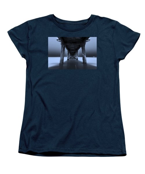 Women's T-Shirt (Standard Cut) featuring the photograph Peaceful Pacific by Mihai Andritoiu