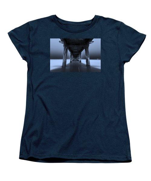 Peaceful Pacific Women's T-Shirt (Standard Cut) by Mihai Andritoiu