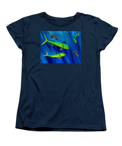 Peanut Gallery Women's T-Shirt (Standard Cut) by Steve Ozment