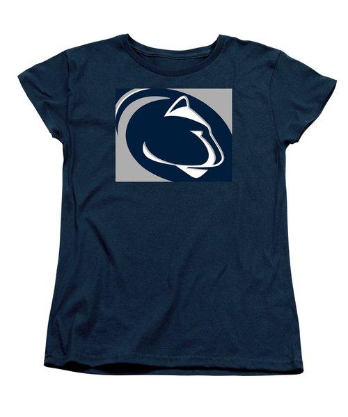 Penn State Nittany Lions Women's T-Shirt (Standard Cut) by Tony Rubino