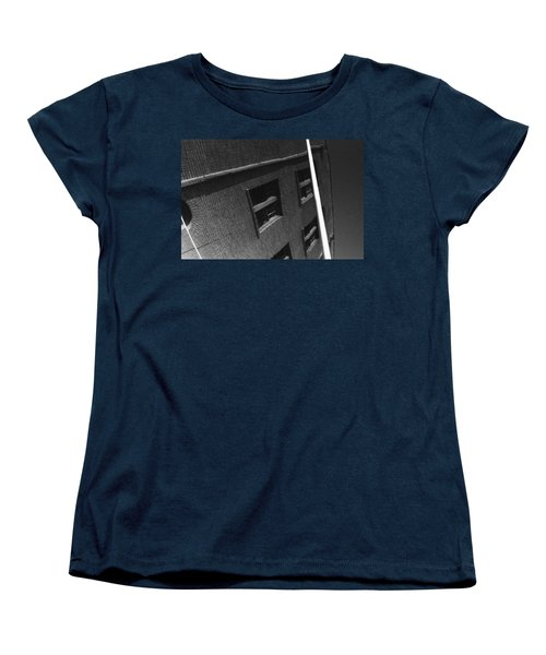 Women's T-Shirt (Standard Cut) featuring the photograph Peoples Home by Steven Macanka