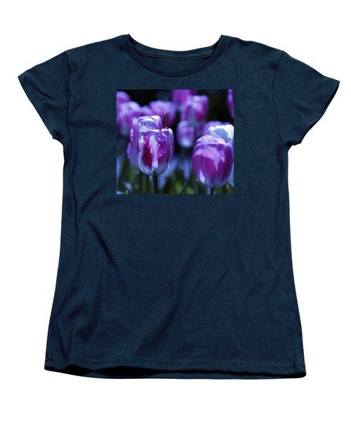 Women's T-Shirt (Standard Cut) featuring the photograph Peppermint Candies by Joe Schofield