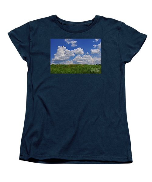 Perfect Day Women's T-Shirt (Standard Cut) by Liz Masoner
