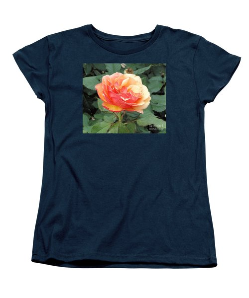 Women's T-Shirt (Standard Cut) featuring the photograph Perfect Rose by Janette Boyd