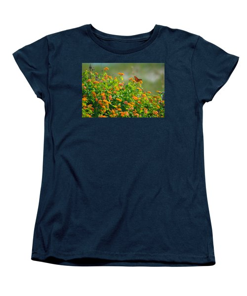 Perfectly Poised  Women's T-Shirt (Standard Cut) by Mary Ward