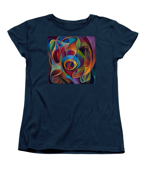 Perplexity Women's T-Shirt (Standard Cut) by Claudia Goodell
