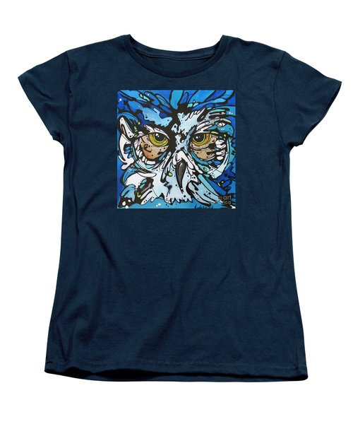 Women's T-Shirt (Standard Cut) featuring the painting Perry by Nicole Gaitan
