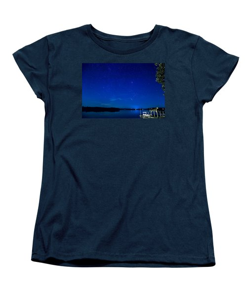 Perseid Meteor Women's T-Shirt (Standard Cut) by Charles Hite