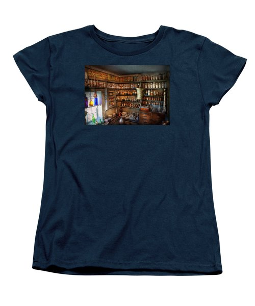 Pharmacy - Medicinal Chemistry Women's T-Shirt (Standard Cut) by Mike Savad