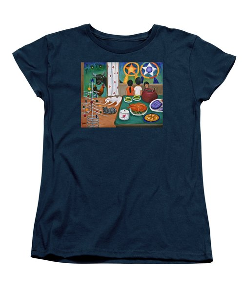 Philippine Christmas 2 Women's T-Shirt (Standard Cut) by Victoria Lakes