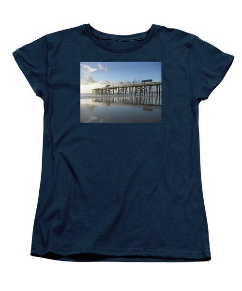 Pier Reflection Women's T-Shirt (Standard Cut)