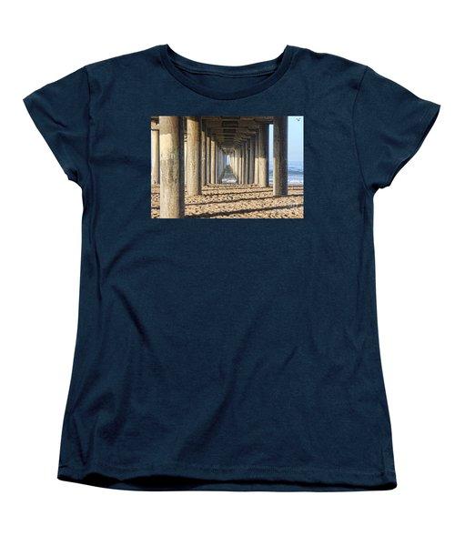 Pier Women's T-Shirt (Standard Cut) by Tammy Espino