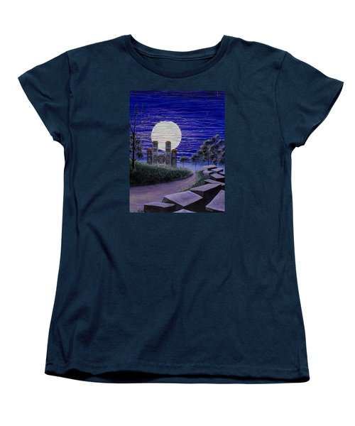 Pilgrimage Women's T-Shirt (Standard Cut) by Jack Malloch