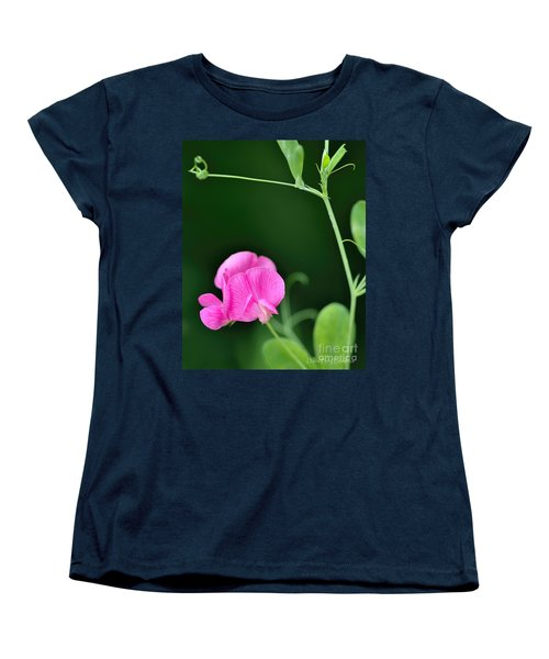 Pink And Green Women's T-Shirt (Standard Cut) by David Perry Lawrence