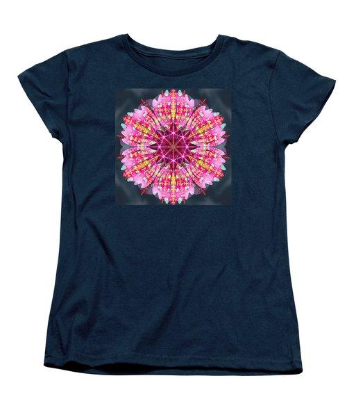 Pink Lightning Women's T-Shirt (Standard Cut) by Derek Gedney