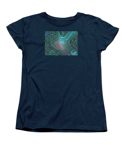 Women's T-Shirt (Standard Cut) featuring the photograph Pixellated by Mariarosa Rockefeller